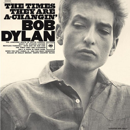 Bob Dylan альбом The Times They Are A Changin' (2010 Mono Version)