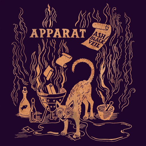 Apparat альбом Ash/Black Veil