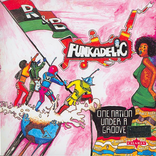 Funkadelic альбом One Nation Under A Groove (UK)
