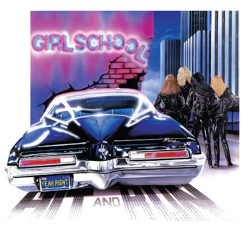 Girlschool альбом Hit and Run (Bonus Track Edition)