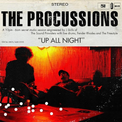 The Procussions альбом Up All Night EP