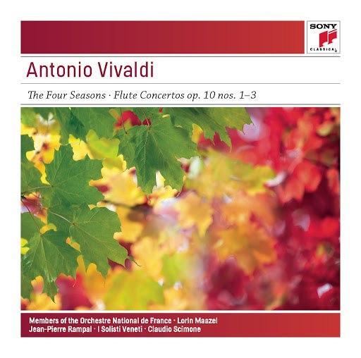 Antonio Vivaldi альбом Vivaldi: The Four Seasons, Op. 8 - Sony Classical Masters