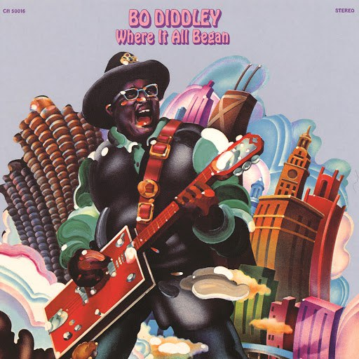 Альбом Bo Diddley Where It All Began