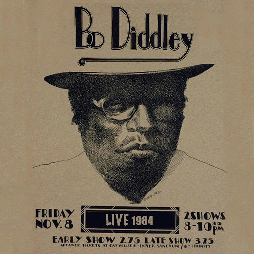 Альбом Bo Diddley Live 1984