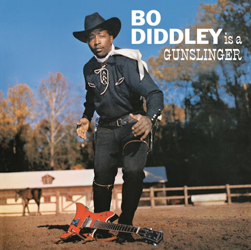 Bo Diddley альбом Bo Diddley Is A Gunslinger