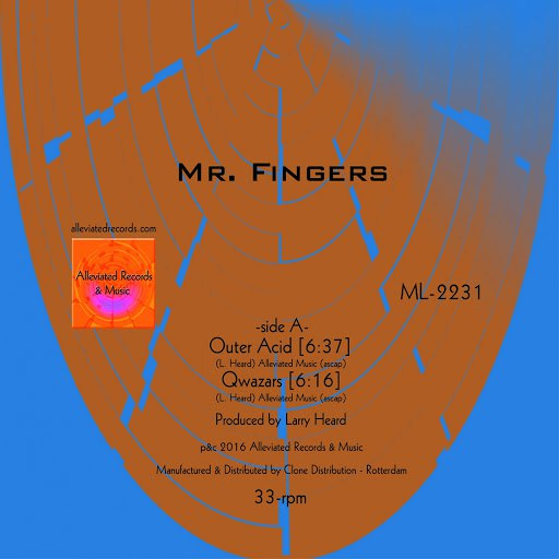 Mr. Fingers альбом Outer Acid EP