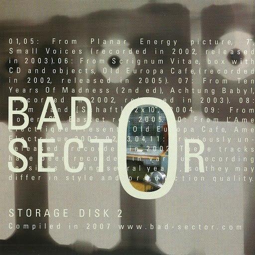Bad Sector альбом Storage Disk 2