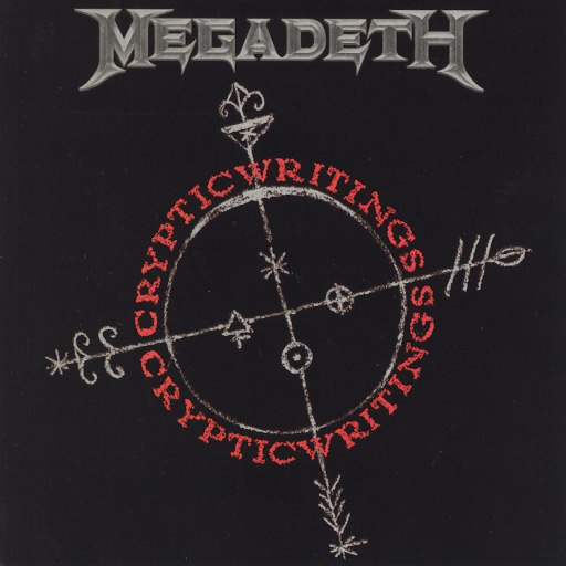 Megadeth альбом Cryptic Writings