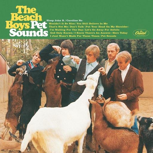 The Beach Boys альбом Pet Sounds (Mono)