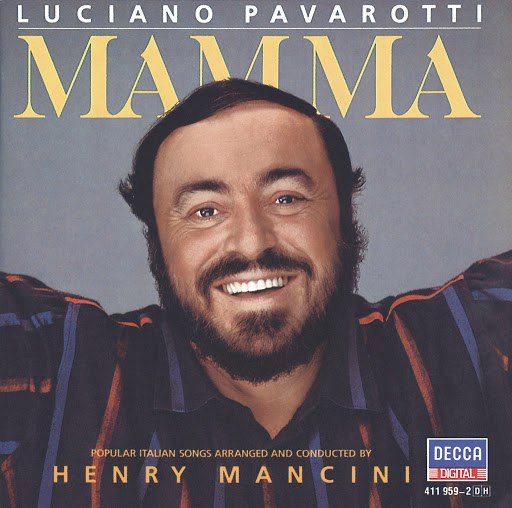 Luciano Pavarotti альбом Mamma