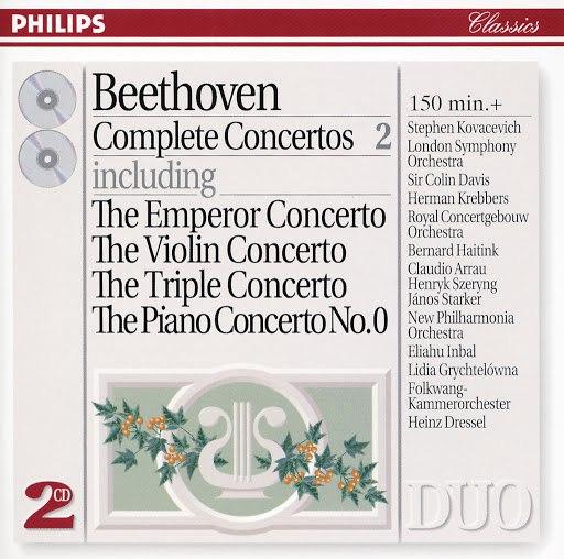 Ludwig Van Beethoven альбом Beethoven: Complete Concertos, Vol. 2