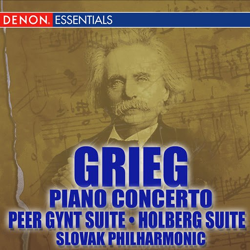 Эдвард Григ альбом Grieg Piano Concerto - Peer Gynt - Holberg Suites