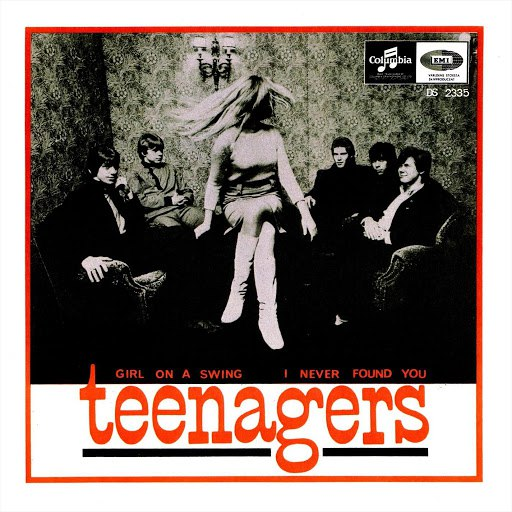 The Teenagers альбом Girl On A Swing / I Never Found You