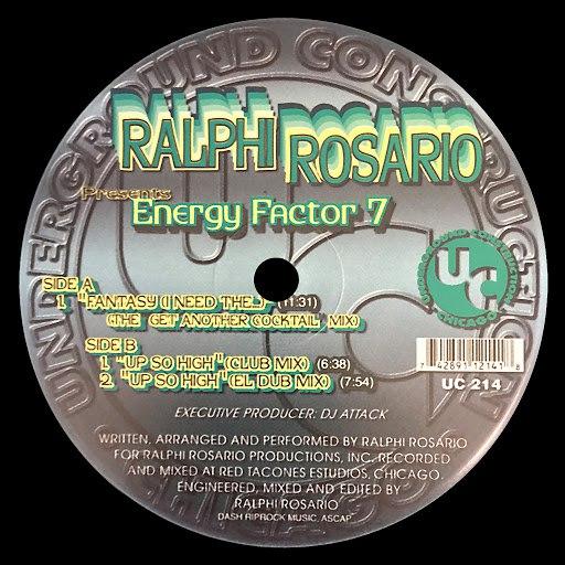 ralphi rosario альбом Energy Factor 7