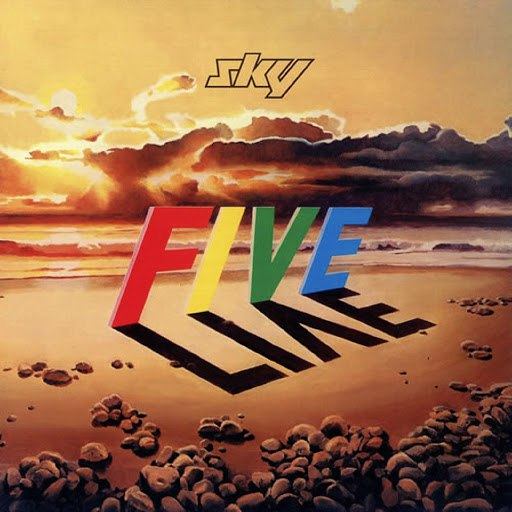 Sky альбом Five Live (Deluxe Edition)