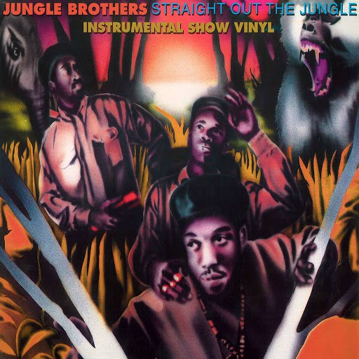 Jungle Brothers альбом Straight out the Jungle: The Instrumental Show