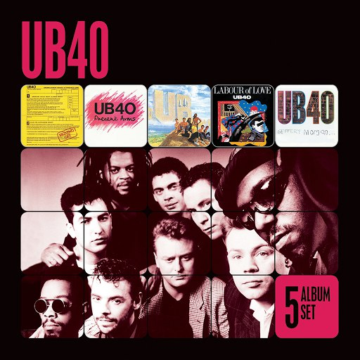 UB40 альбом 5 Album Set (Signing Off/Present Arms/UB44/Labour of Love/Geffery Morgan)