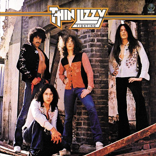 Thin Lizzy альбом Fighting (Remastered Version)
