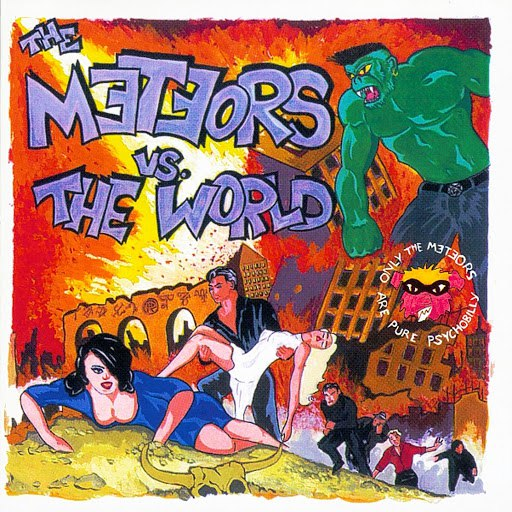 The Meteors альбом The Meteors Vs The World