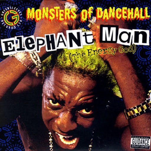 Elephant man альбом Monsters Of Dancehall (The Energy God)
