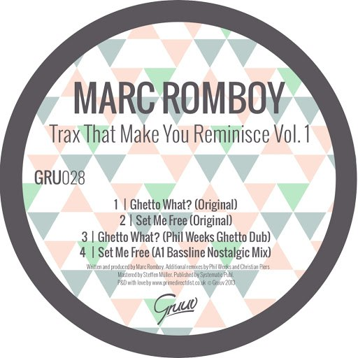 Marc Romboy альбом Trax That Make You Reminisce, Vol. 1