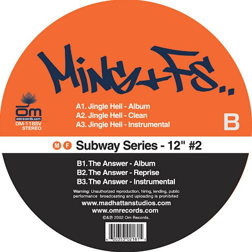 "Ming альбом Subway Series 12"" #2"