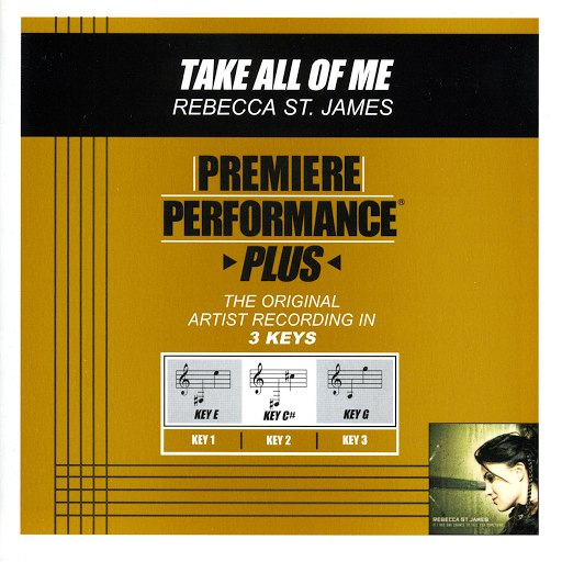 Rebecca St. James альбом Take All Of Me (Premiere Performance Plus Track)