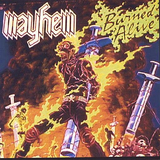 Mayhem альбом Burned Alive