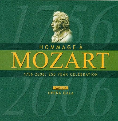 Cecilia Bartoli альбом Mozart (A Homage) - 250 Year Celebration, Vol. 5 (Opera Gala)