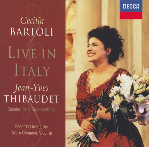 Cecilia Bartoli альбом Live in Italy