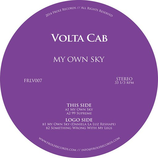 Volta Cab альбом My Own Sky