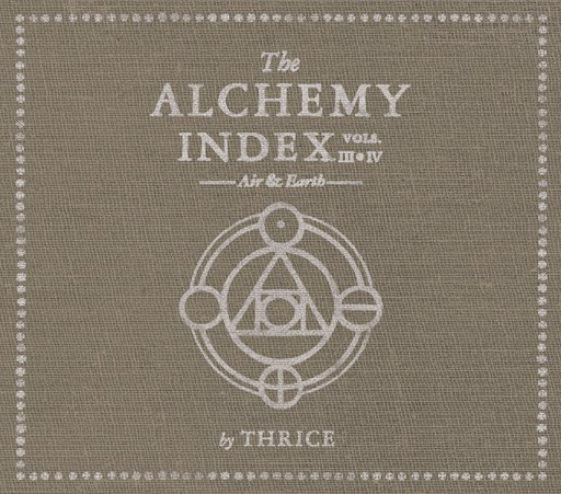 Thrice альбом The Alchemy Index: Vols 3 & 4 Air & Earth