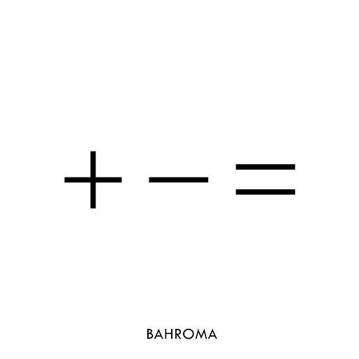 Bahroma альбом + - =