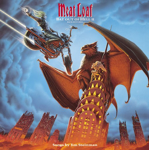 Meat Loaf альбом Bat Out Of Hell II: Back Into Hell