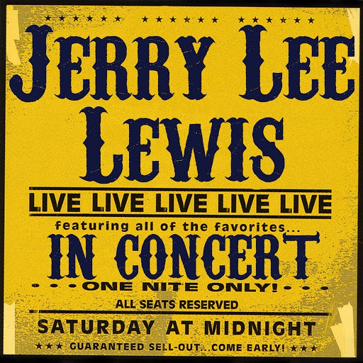 Jerry Lee Lewis альбом In Concert
