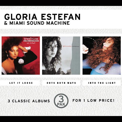 Gloria Estefan альбом Let It Loose/Cuts Both Ways/Into The Light (3 Pak)