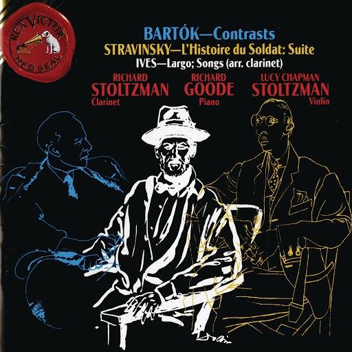 Richard Stoltzman альбом Bartok: Contrasts - Stravinsky: L'Histoire du Soldat - Suite; Ives: Largo; Songs