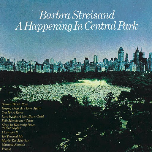 Barbra Streisand альбом A Happening In Central Park