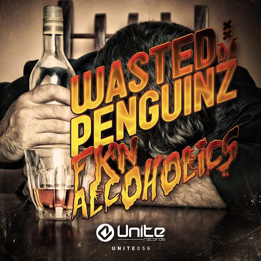 Wasted Penguinz альбом Fkn Alcoholics