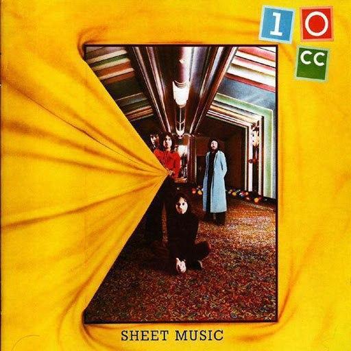 10CC альбом Sheet Music