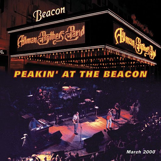The Allman Brothers Band альбом Peakin' At The Beacon