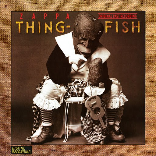 Frank Zappa альбом Thing-Fish