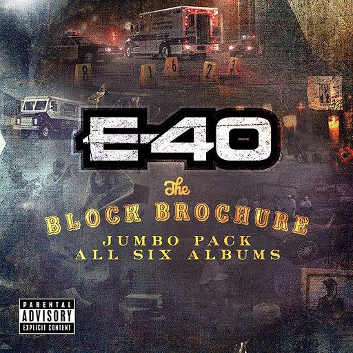 E-40 альбом The Block Brochure: Jumbo Pack