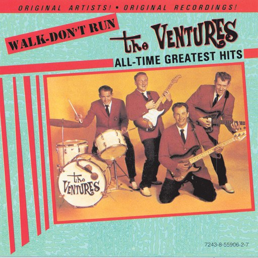 The Ventures альбом Walk Don't Run - All-Time Greatest Hits
