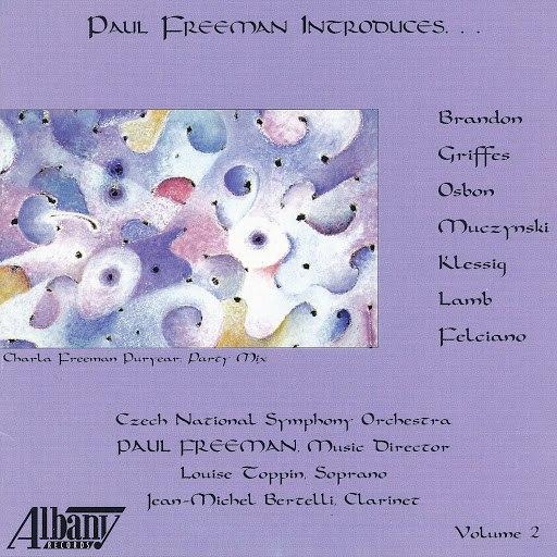 Paul Freeman альбом Paul Freeman Introduces, Vol. 2