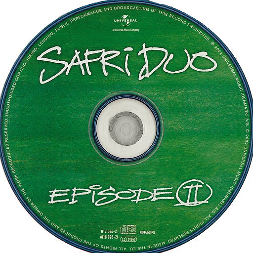 Safri Duo альбом The Remix Edition - Episode ll (CD 1)