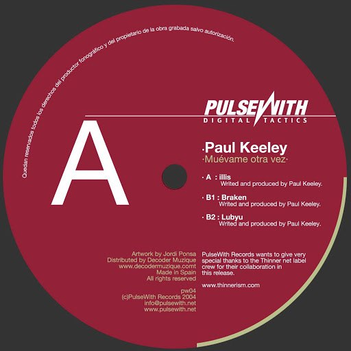 Paul Keeley альбом Muevame Otra Vez
