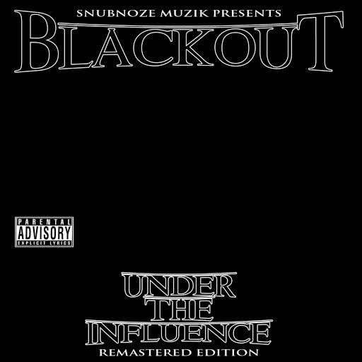 Blackout альбом Under The Influence Take 1
