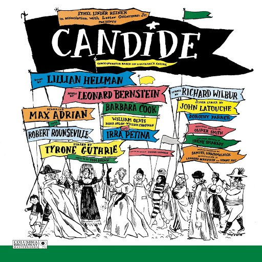 Leonard Bernstein альбом Candide (original Broadway cast)