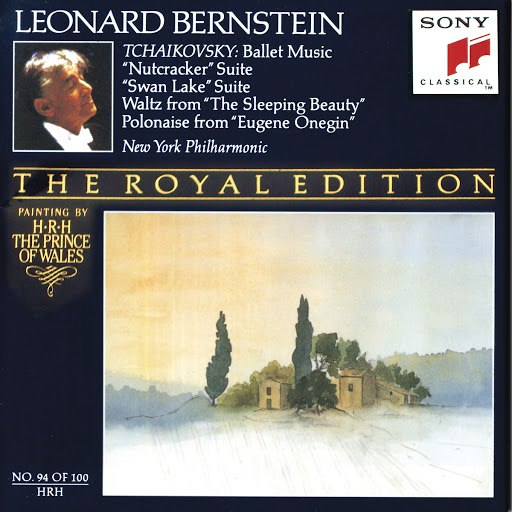Leonard Bernstein альбом Ballet Music from The Nutcracker, Swan Lake, Sleeping Beauty, and Eugene Onegin
